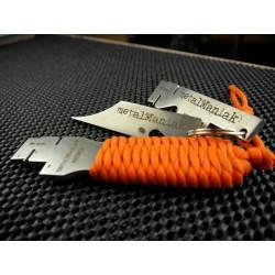 SUPER TRIO - SEAM SHOOTER H z Ręcznie Plecioną Rękojeścią + SEAM SHOOTER (wersja kieszonkowa) Masywny Brelok + SEAM EDGER!!!